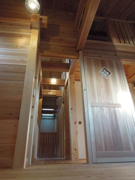 板倉構法の家